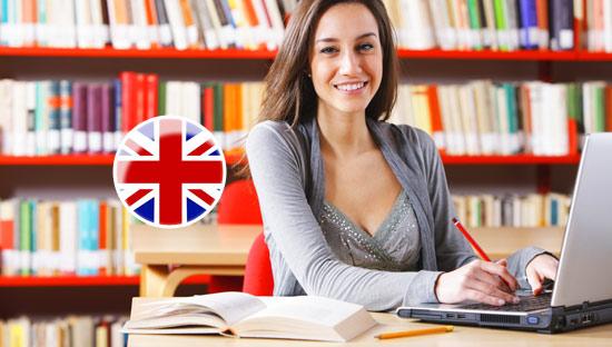 Английская студентка