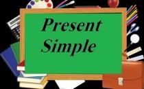 Правила Present Simple / Презент Симпл