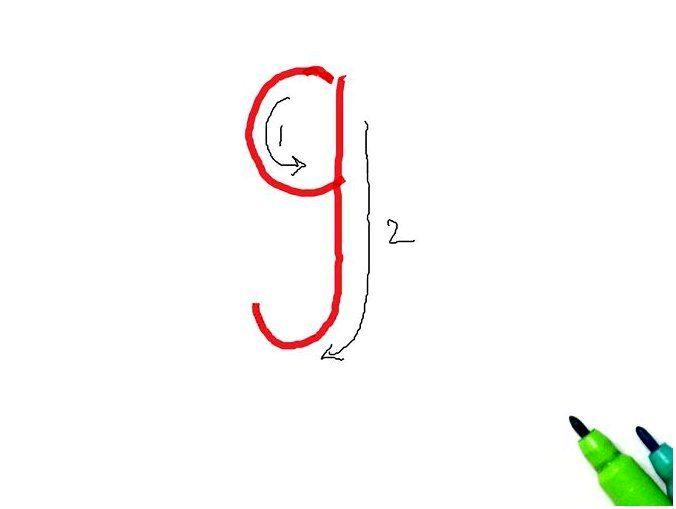 Как пишется английская буква джи