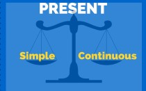 Упражнения на present continuous, present simple