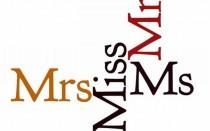 miss или mrs