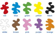 Цвета на английском языке для детей с помощью видео и игр