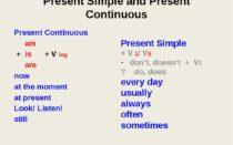 примеры present perfect и present continuous
