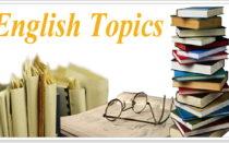 Различные топики на английском с переводом для школьников и студентов