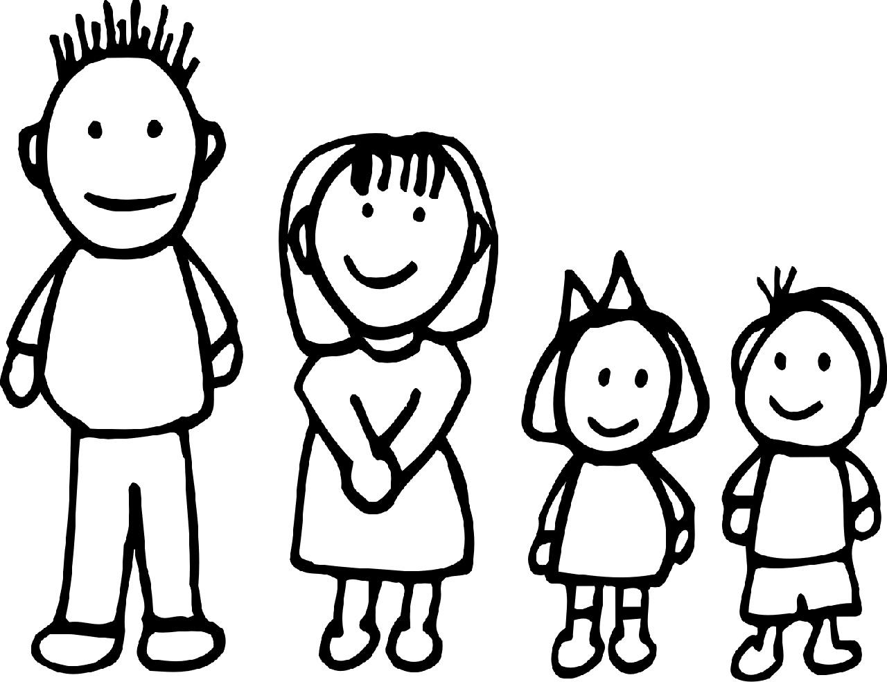 Семья на английском